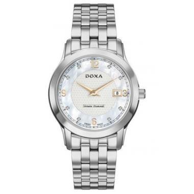 Dámské hodinky DOXA Executive Diamonds D168SWH
