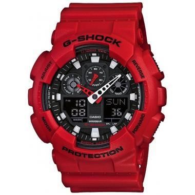 Pánské hodinky CASIO G-SHOCK GA-100B-4A2ER