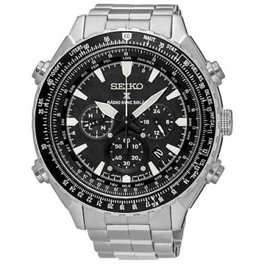 Pánské hodinky SEIKO Radiocontrolled Solar SSG001P1