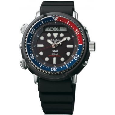 Pánské hodinky SEIKO Prospex Sea Solar Diver's PADI Arnie Pepsi SNJ027P1