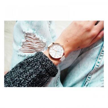 Dámské hodinky JVD Sunday Rose Vintage SUN-A04