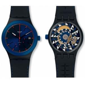 Pánské hodinky SWATCH Sistem Notte SUTB403