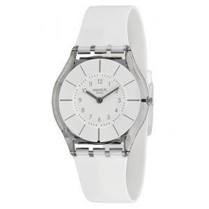 78113440bf3 3D náhled. Dámské hodinky SWATCH White Classiness SFK360