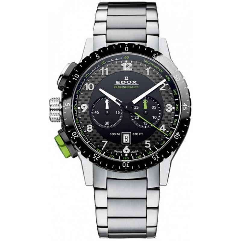 c543215e7 Pánské hodinky EDOX Chronorally 1 Chronograph 10305 3NVM NV