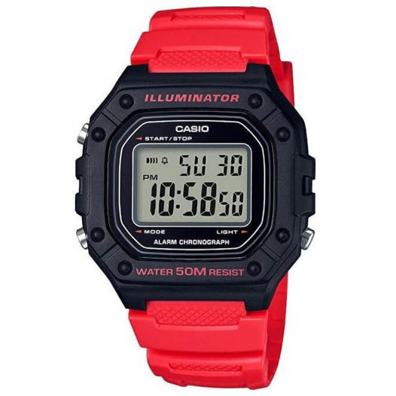 Pánské hodinky CASIO Collection W-218H-4B