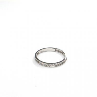 Prsten z bílého zlata se zirkony Pattic AU 585/000 1,00 gr GURDE0124590101-48