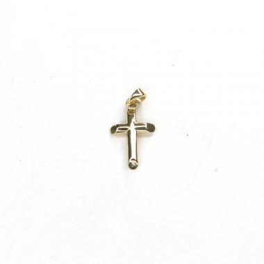 Přívěs ze žlutého zlata kříž Pattic AU 585/000 0,70 gr ARP110705Y