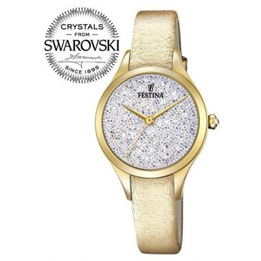 Dámské hodinky FESTINA Swarovski 20410/1