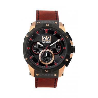Pánské hodinky LOSER Vision Border Red LOS-V06