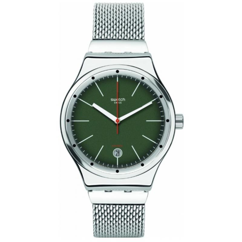 Pánské hodinky SWATCH Sistem Kaki YIS407GA