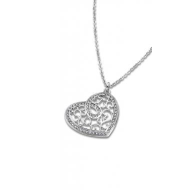 Náhrdelník LOTUS STYLE Woman S Heart LS1668-1/1