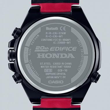 Pánské hodinky CASIO Edifice Honda Racing Limited Edition ECB-10HR-1AER