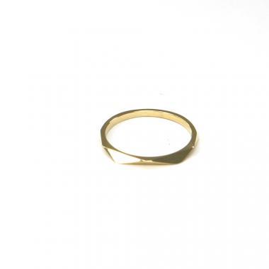 Prsten ze žlutého zlata Pattic AU 585/000 1,10 gr ARP665101Y-52