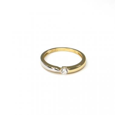 Prsten ze žlutého zlata se zirkonem Pattic AU 585/000 1,60gr ARP027601-55