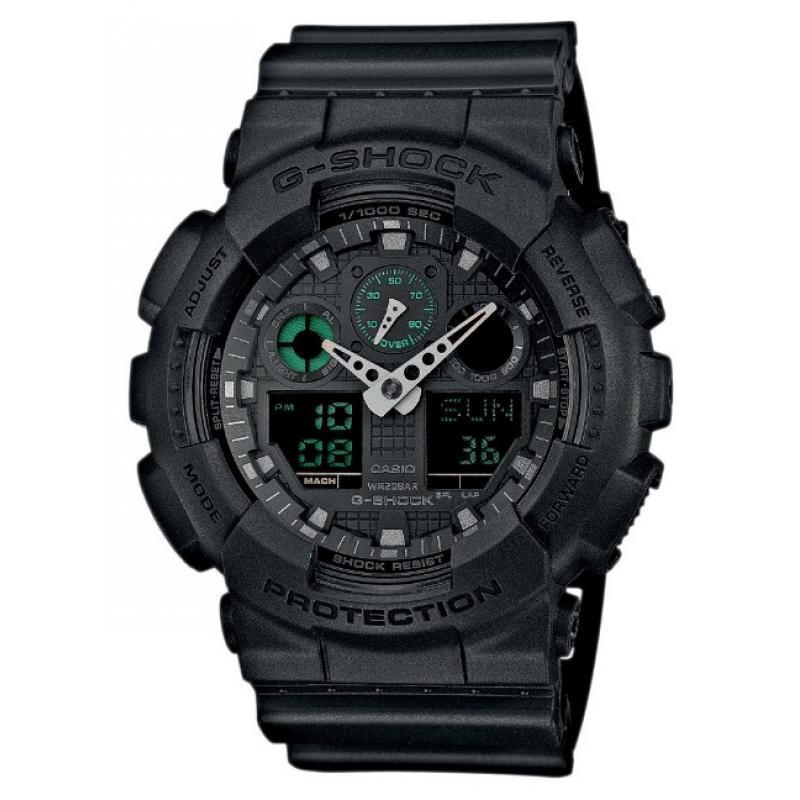 Pánské hodinky CASIO G-SHOCK GA-100MB-1A
