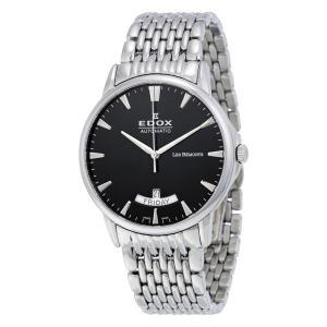 Pánské hodinky EDOX Les Bémonts Automatic Day Date 83015 3M NIN