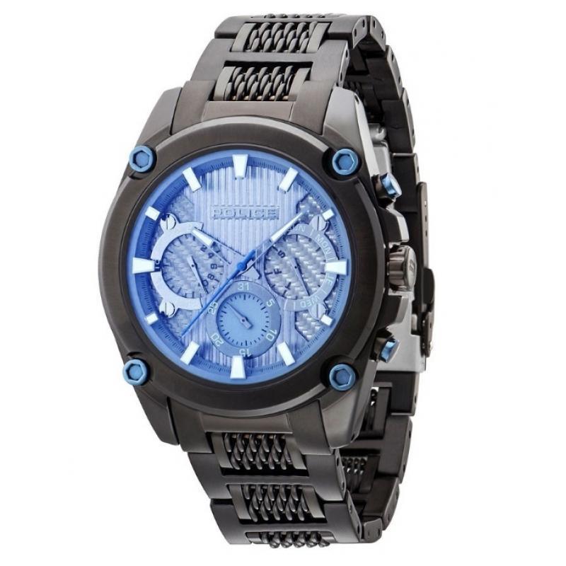 Pánské hodinky POLICE Mesh Up PL14543JSB/13M