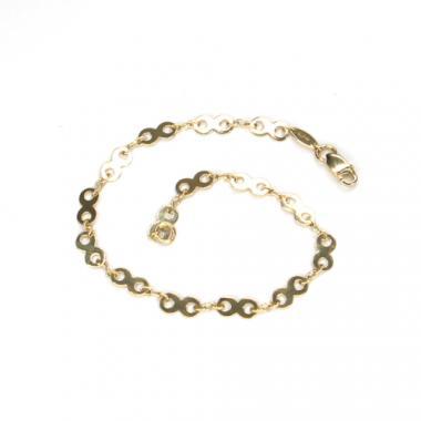 Náramek ze žlutého zlata Pattic AU 585/000 2,25 gr ARP126503Y-18,5
