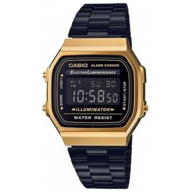 Hodinky CASIO Collection Retro A-168WEGB-1BEF