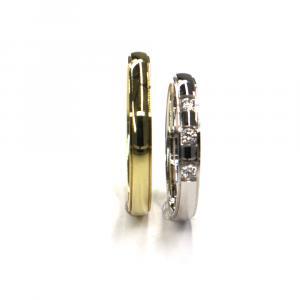 Snubní prsteny Pattic AU 585/000, 6,05 gr, 3D2, zirkon