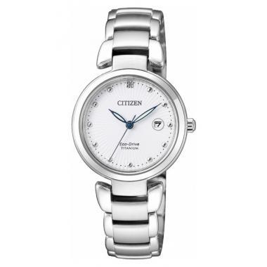 Dámské hodinky CITIZEN Super Titanium Eco-Drive EW2500-88A