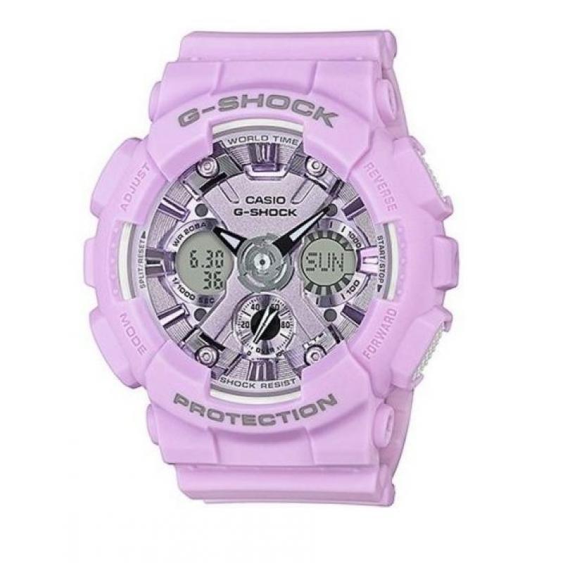 Dámské hodinky CASIO G-SHOCK GMA-S120DP-6A