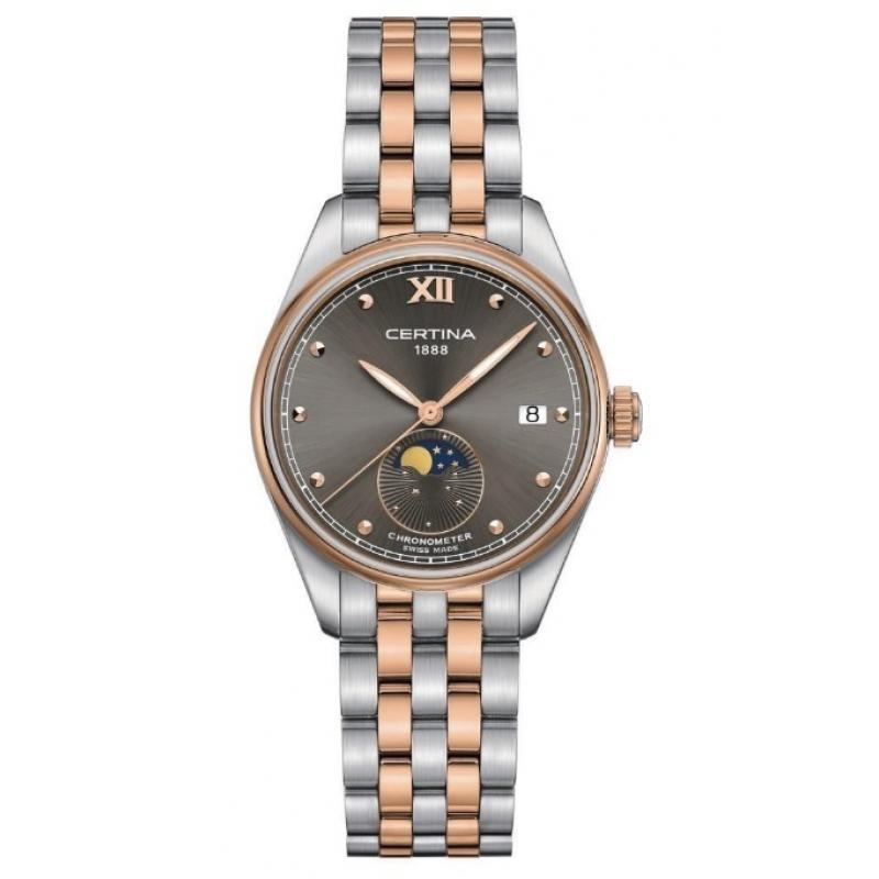 Dámské hodinky CERTINA DS-8 Moon Phase Chronometer C033.257.22.088.00