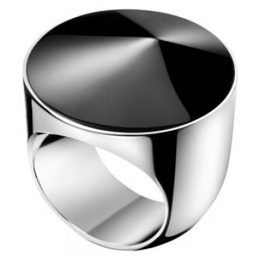 Prsten CALVIN KLEIN Empower, černá pryskyřice KJAQMR090308