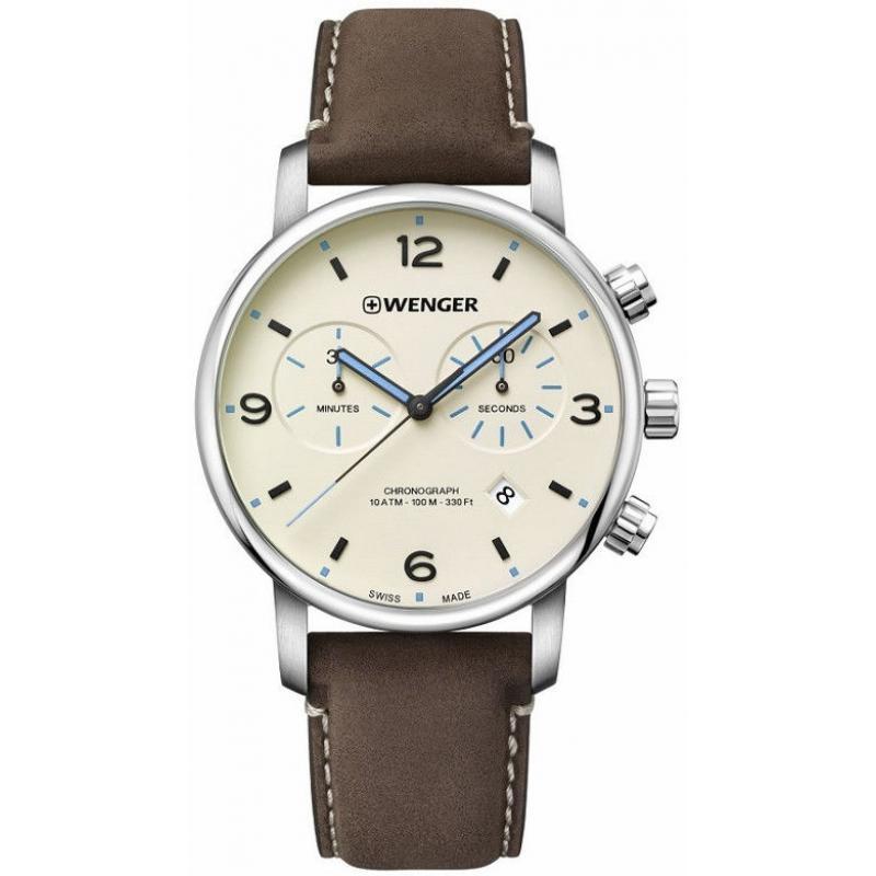 Pánské hodinky Wenger Urban Metropolitan Quartz Chronograph 01.1743.111