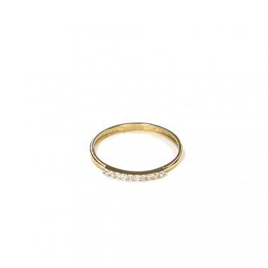 Prsten ze žlutého zlata a zirkony Pattic AU 585/000 0,80 gr LMG6701Y-52