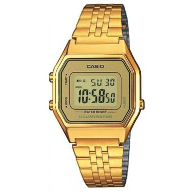 Dámské hodinky CASIO Collection Retro LA-680WEGA-9ER
