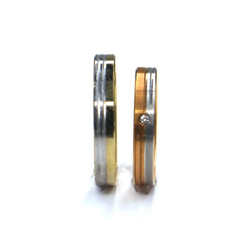 Snubní prsteny Pattic AU 585/000, 6,00 gr, 35 SCH3 M BCBZ, zirkon