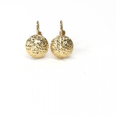 Náušnice ze žlutého zlata Pattic AU 585/000 1,50 gr ARP857804Y
