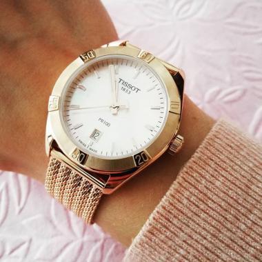 Dámské hodinky TISSOT PR 100 Chic Lady T101.910.33.151.00