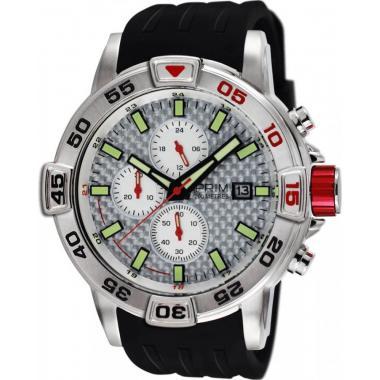 Pánské hodinky PRIM Carbon Fiber W01P.13026.A