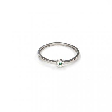 Prsten z bílého zlata se spinelem Pattic AU 585/000 1,05 gr LMG08301GRW-54