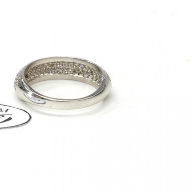 Prsten z bílého zlata se zirkony Pattic AU 585/000 2,20 gr, PR116610901B