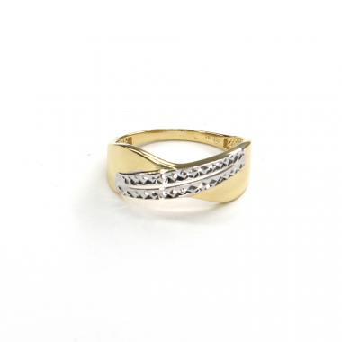 Prsten ze žlutého zlata Pattic AU 585/000 2,20 gr GURDD0131490001-60