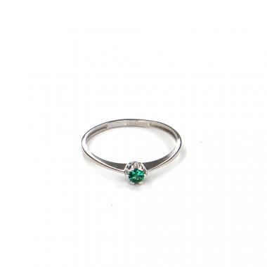 Prsten z bílého zlata se spinelem Pattic AU 585/000 1,10 gr LMG7901GRW-57
