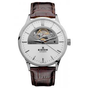Pánské hodinky EDOX Les Vauberts Automatic Open Heart 85014 3 AIN