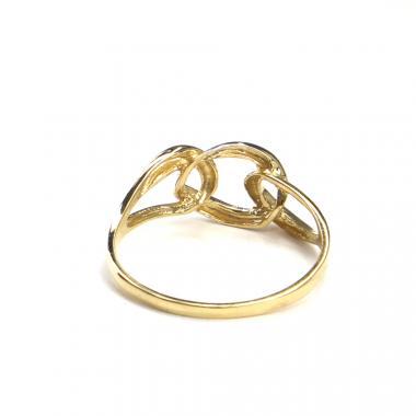 Prsten ze žlutého/bílého zlata Pattic AU 585/000 1,75 gr, ARP585601-57