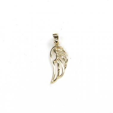 Přívěs ze žlutého zlata andělské křídlo Pattic AU 585/000 0,85 gr ARP045905Y