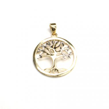 Přívěs strom života bicolor PATTIC  AU 585/000 1,5 gr ARP109305
