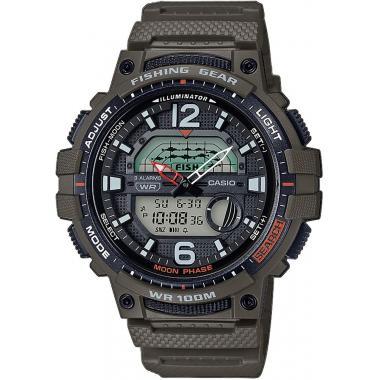 Pánské hodinky CASIO Collection Fishing Gear WSC-1250H-3AVEF