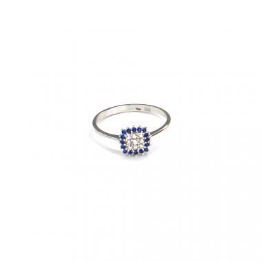 Prsten z bílého zlata Pattic AU 585/000 1,60 gr BV100201BLW-56