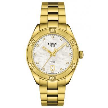 Dámské hodinky TISSOT PR 100 Chic Lady T101.910.33.116.01