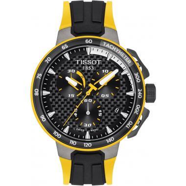 Pánské hodinky Tissot T-Race Cycling Quartz Chronograph our de France 2020 T111.417.37.201.00
