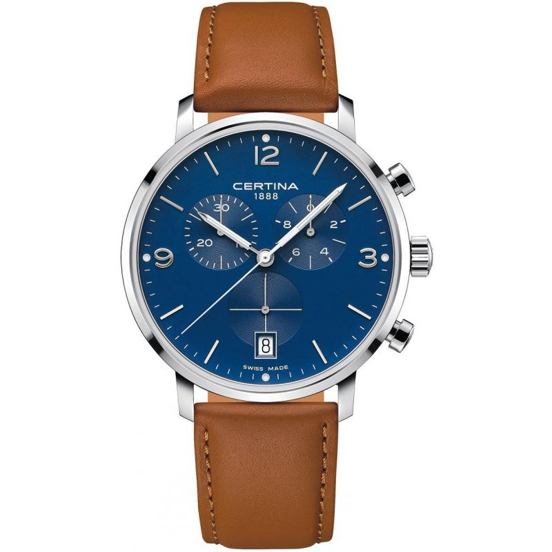 Pánske hodinky CERTINA DS Caimano Chronograph Quartz Precidrive C035.417.16.047.00