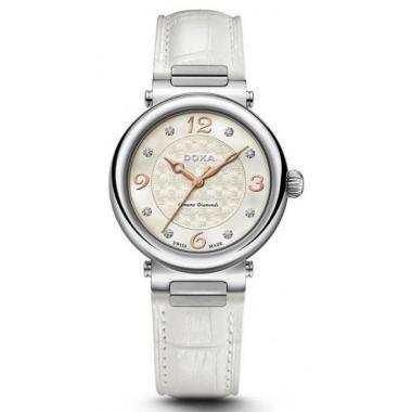 Dámské hodinky DOXA Geuine Diamonds 460.15.053.07