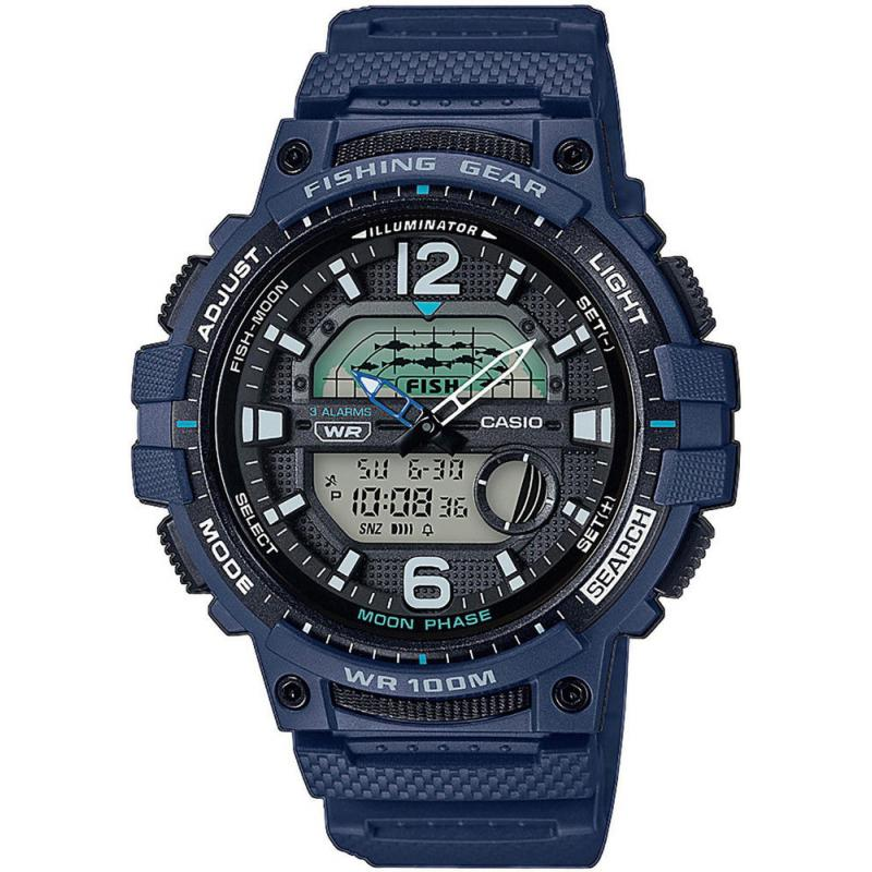 Pánské hodinky CASIO Collection Fishing Gear WSC-1250H-2AVEF